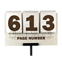 Page Number Sign (4 Digit)