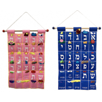 Aleph Beis Wall Hanging