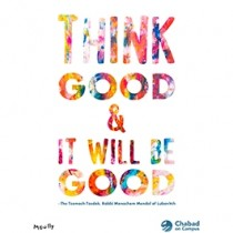 MoullyArt Think Good Poster