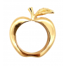 Gold Apple Napkin Rings - Singles