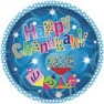 "Happy Chanukah - 10"" Plates - 18pc"