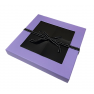 Sectional Window Box with Ribbon - PURPLE