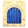 Hand Dipped Color Candles Pack of 8 - BLUE