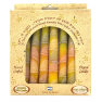 Hand Dipped Color Candles Pack of 8 - YELLOW
