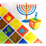Round Menorah Pattern